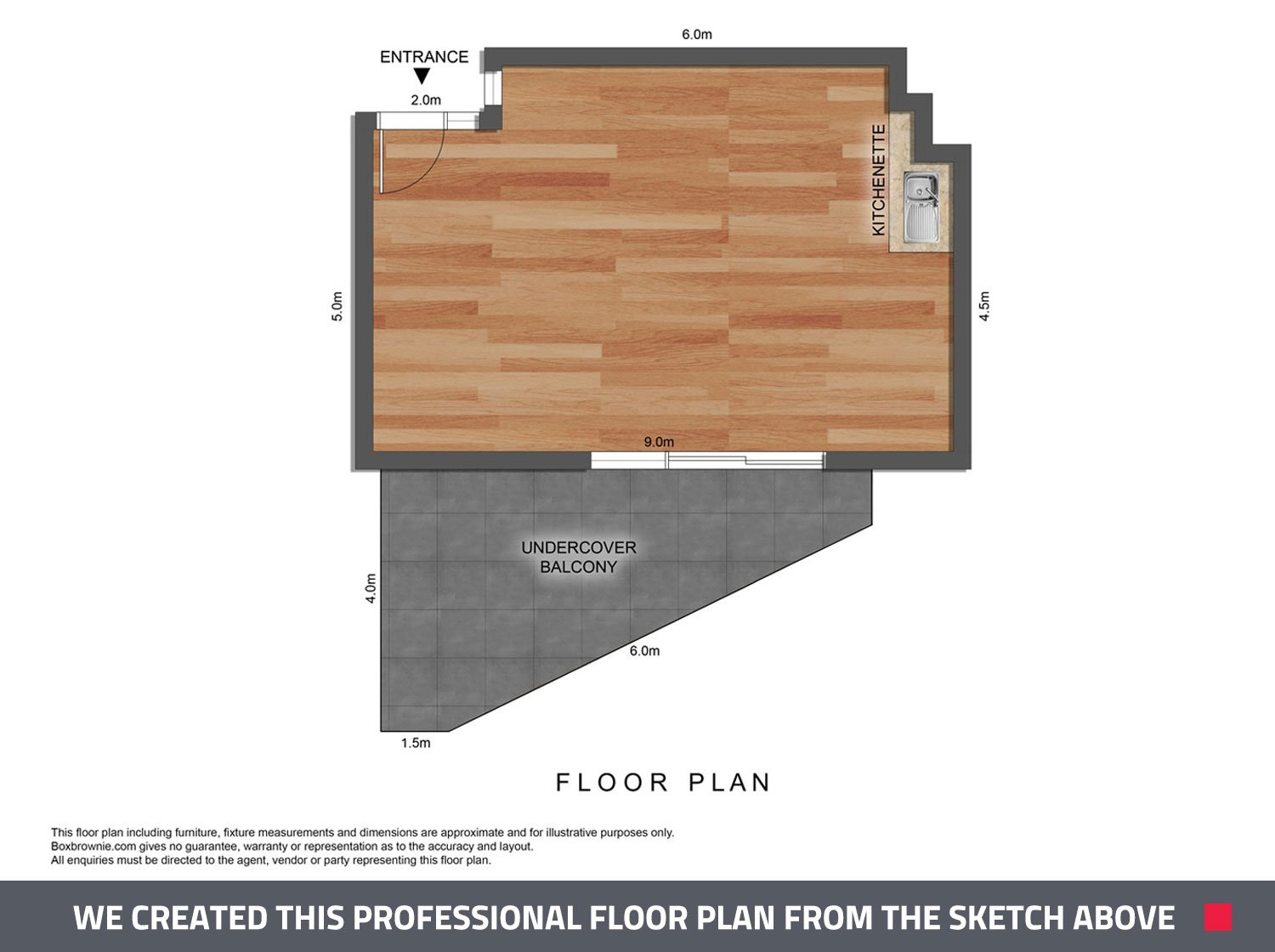 boxbrownie draw floor plan without laser 3