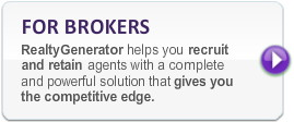 For Brokers button